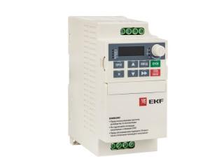 Новая линейка преобразователей частоты Vector80 EKF Basic