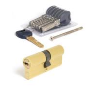 Цилиндровый механизм латунь золотистый 35/35 мм APECS Premier CD-70-G