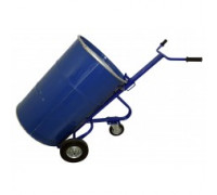 Тележка для транспортировки металлических бочек кб 1